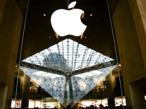 apple louvre