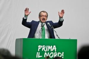 Congresso federale Lega Nord al Forum di Assago