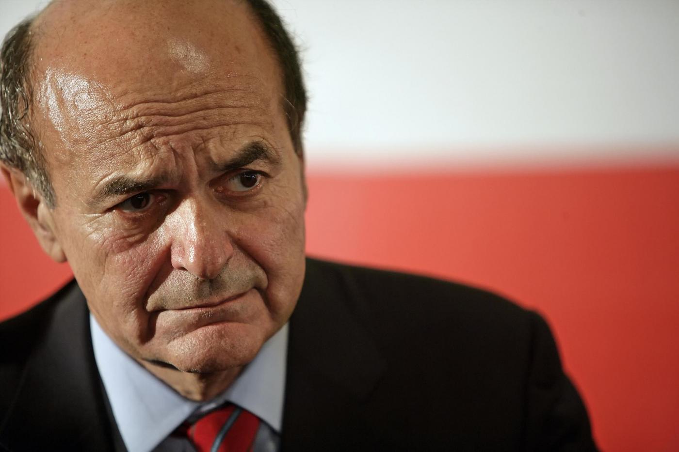 Pierluigi Bersani a sostegno della candidatura di Rosario Crocetta