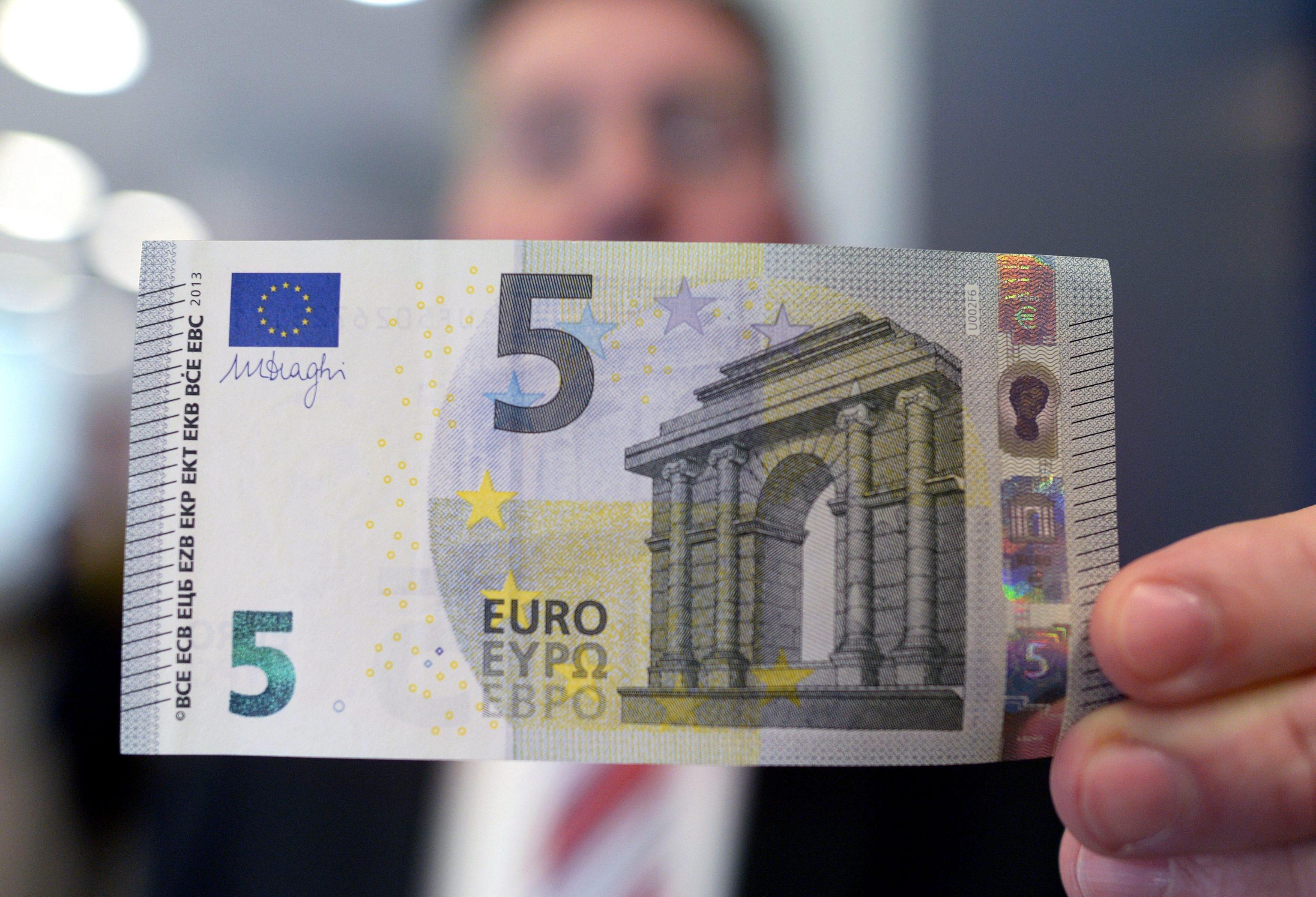 cinque euro banconota