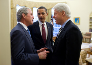 obama bush clinton