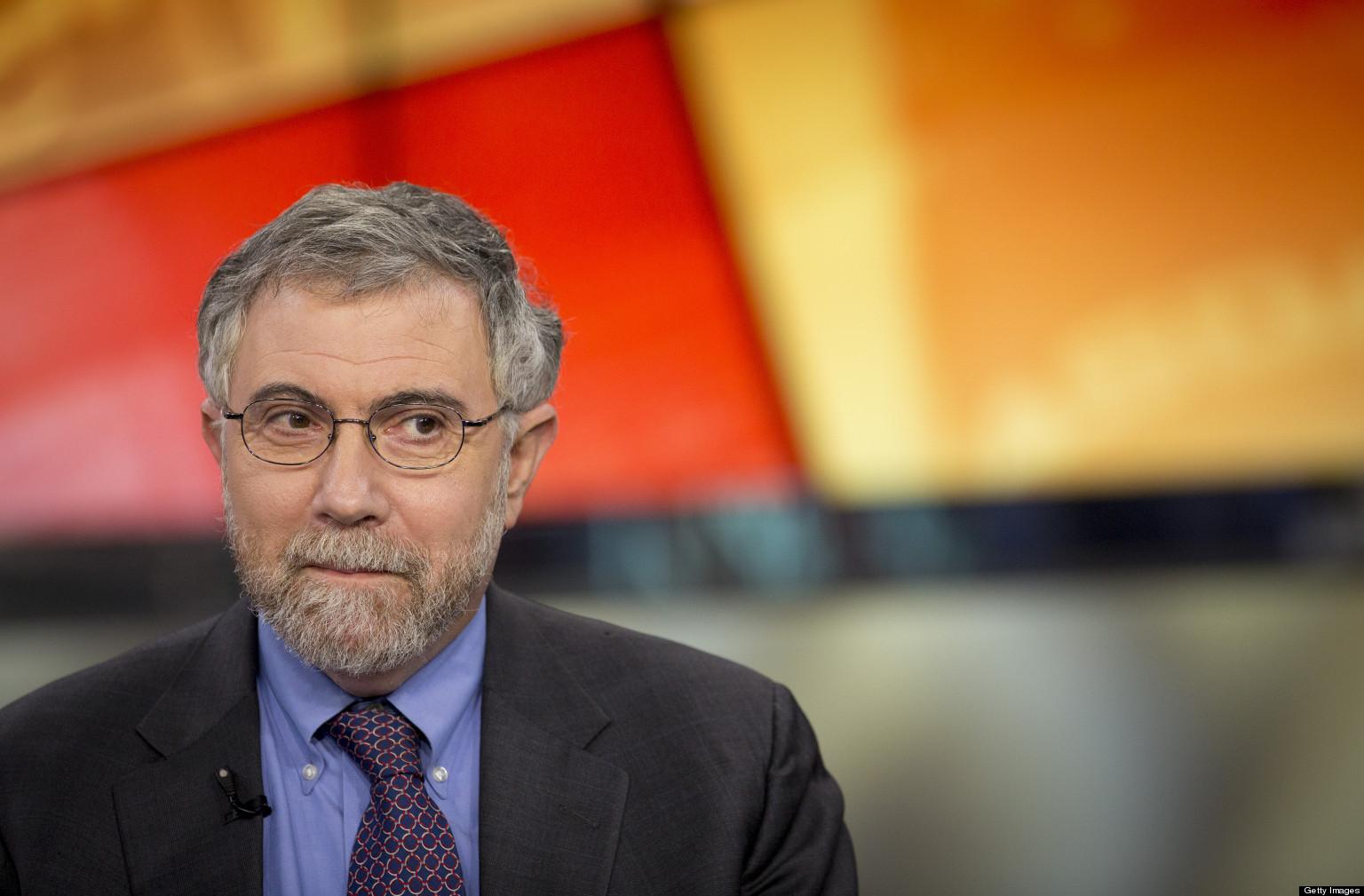 Princeton University Economics Professor Paul Krugman Interview
