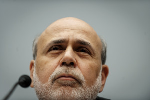 Bernanke Says Feds Bond Purchases Arent on 'Preset Course'