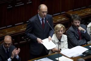 Camera Deputati, fiducia governo Letta