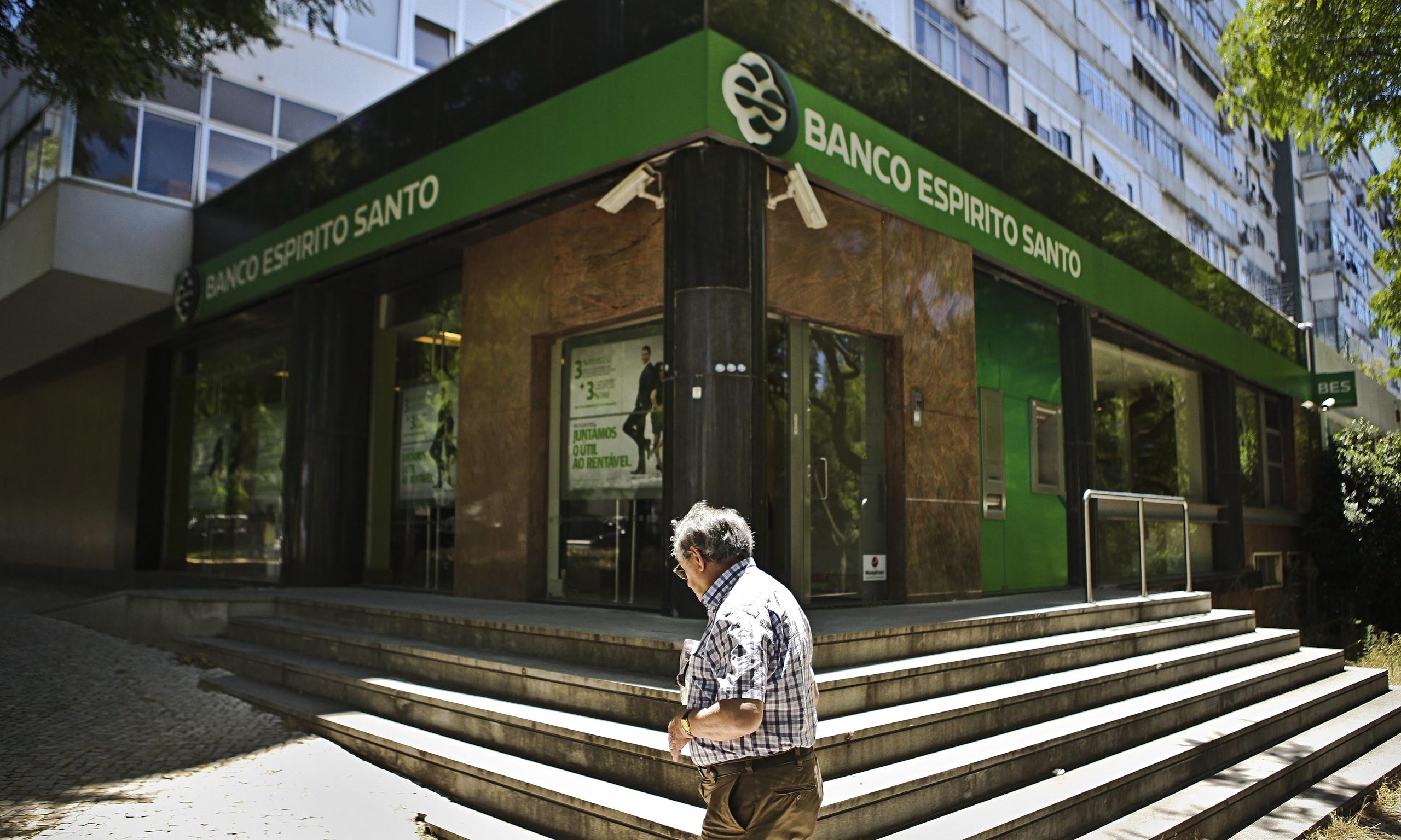 Banco Espirito Santo shares suspended