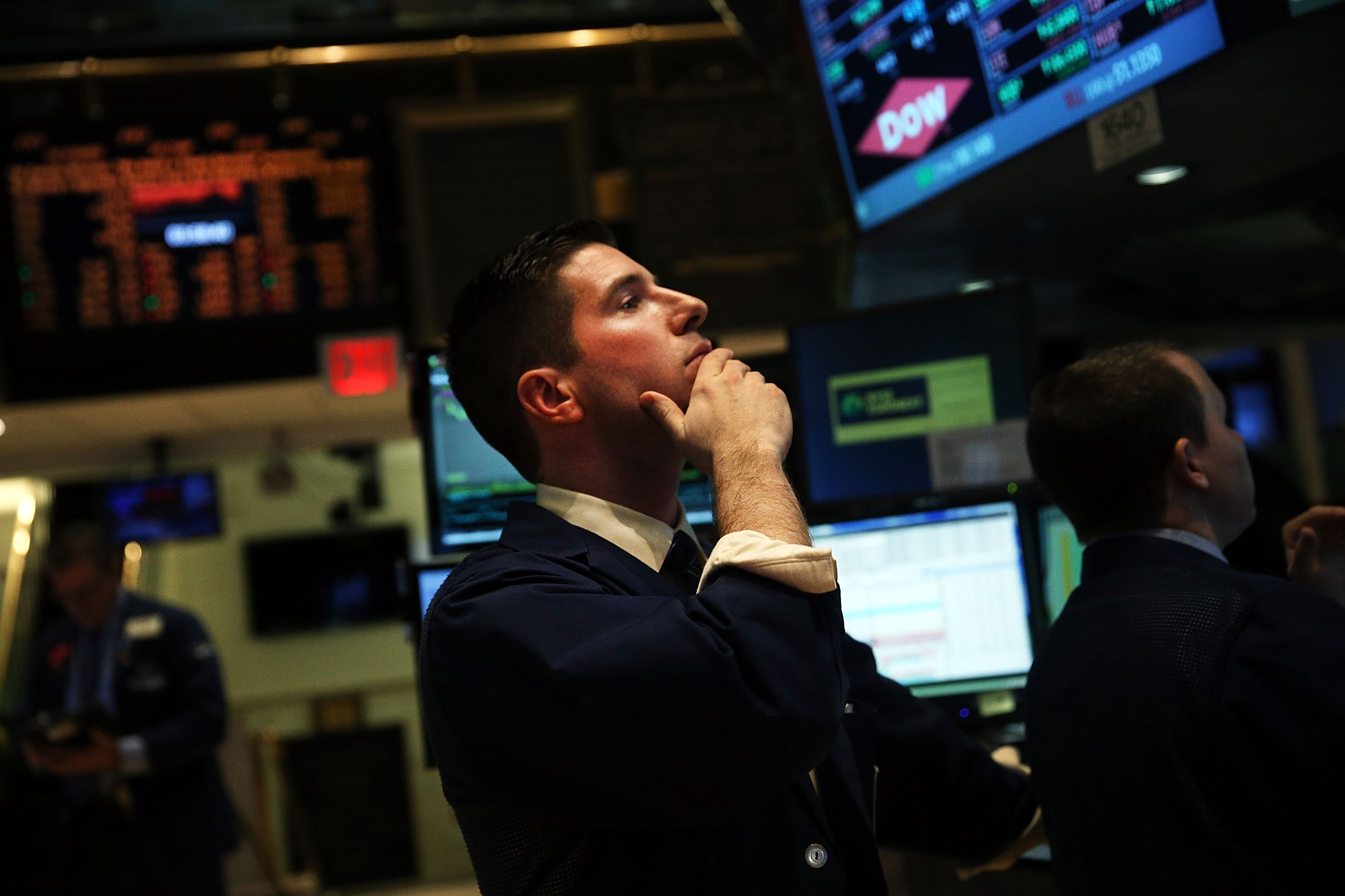 Dow Jones Average Slips Downward As Traders React To Selloff In Emerging Markets