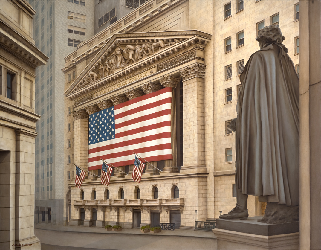 new_york_stock_exchange_oil_painting_charles_santarpia_washington_wall_st_street
