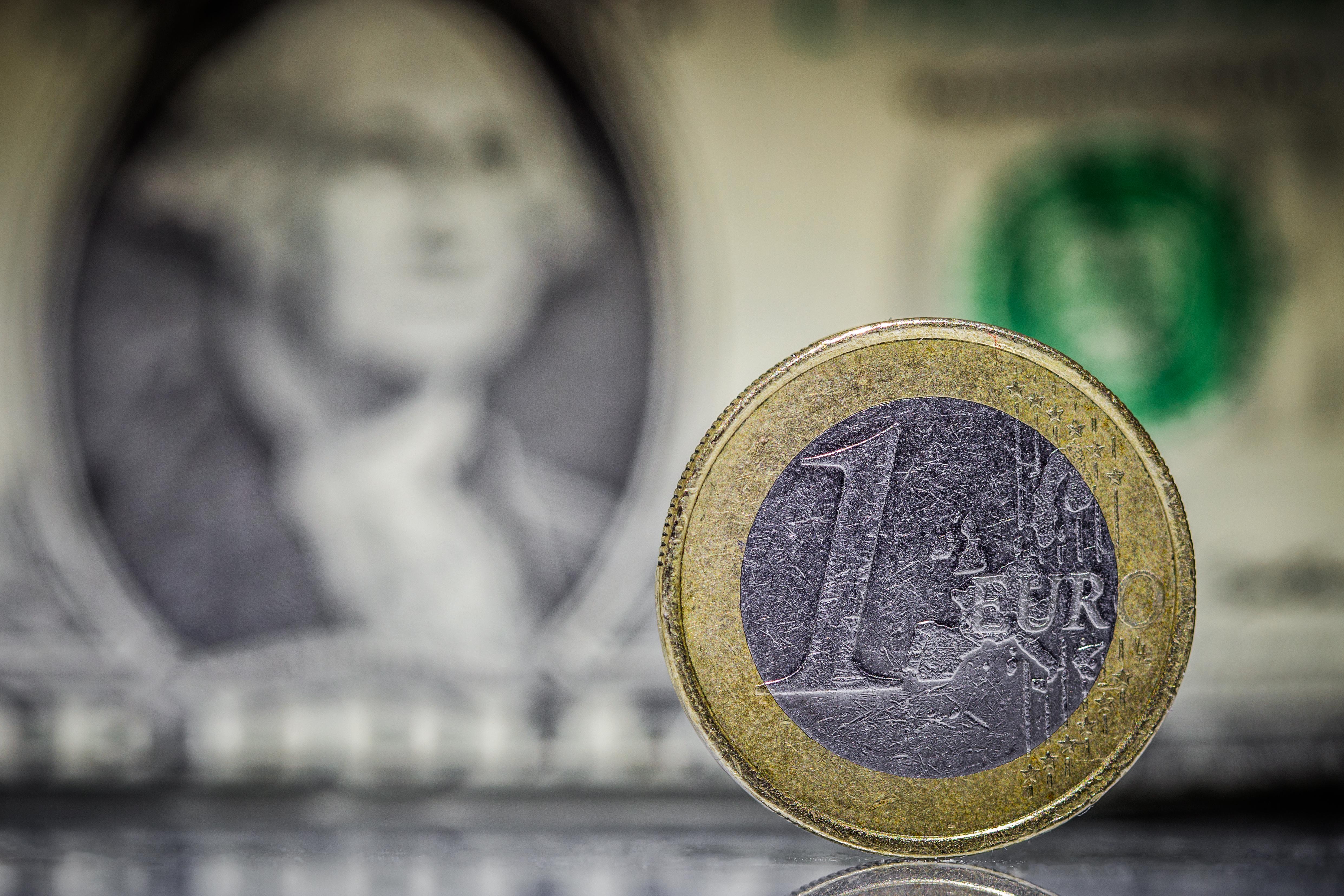 Euro-and-dollar