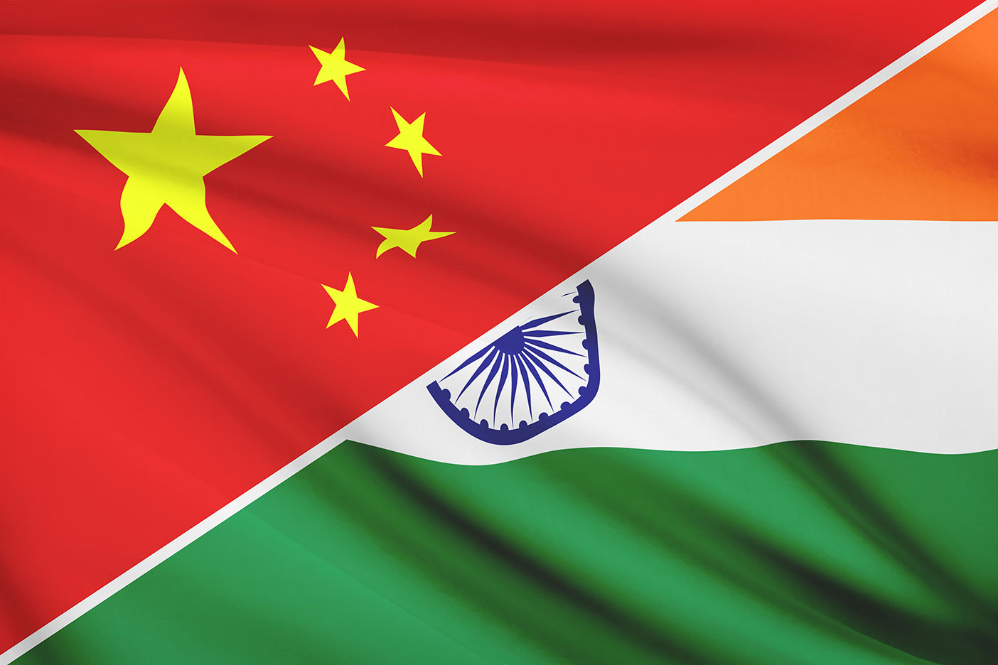 China-India-Flag