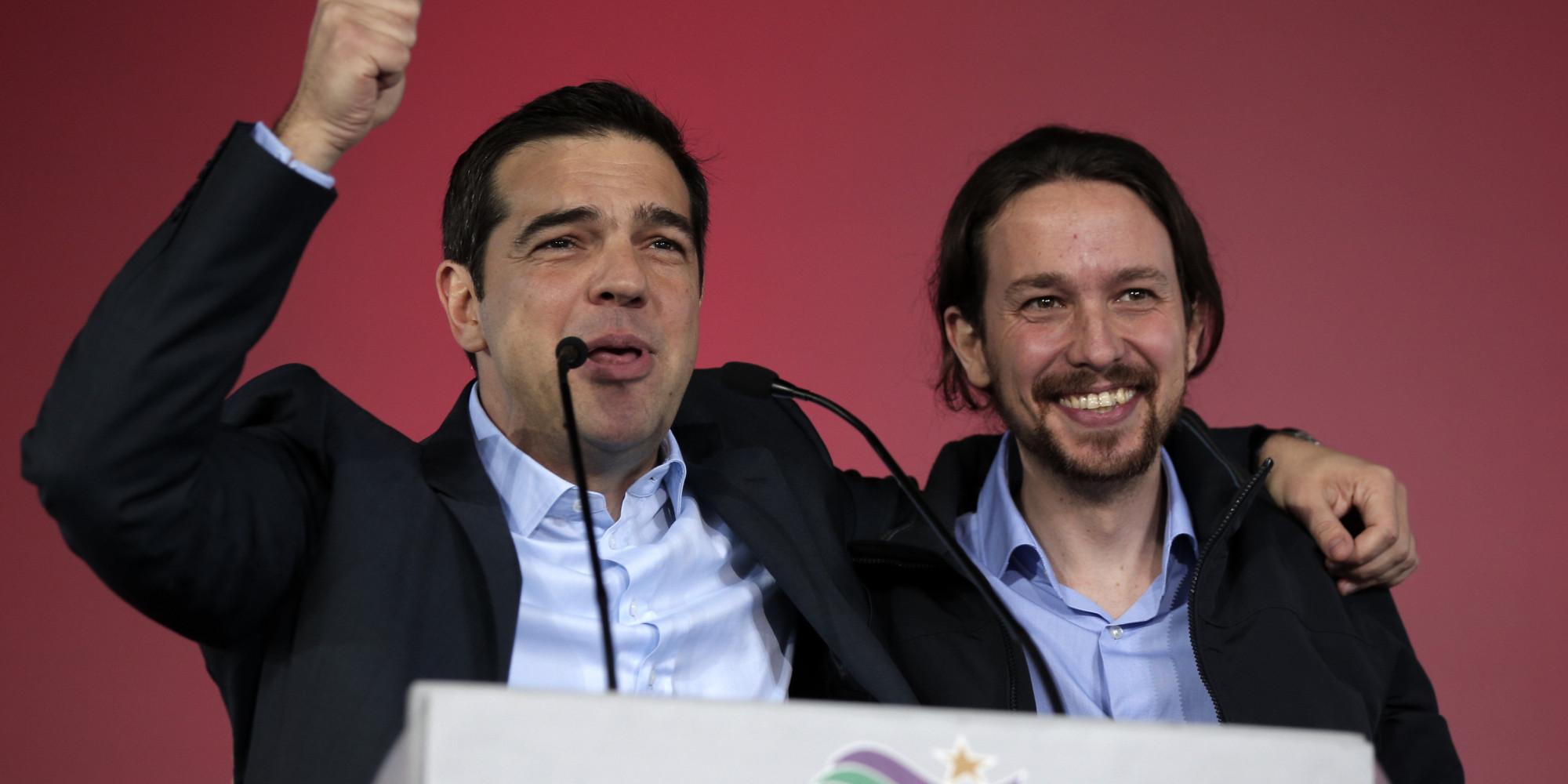 Alexis Tsipras, Pablo Iglesias