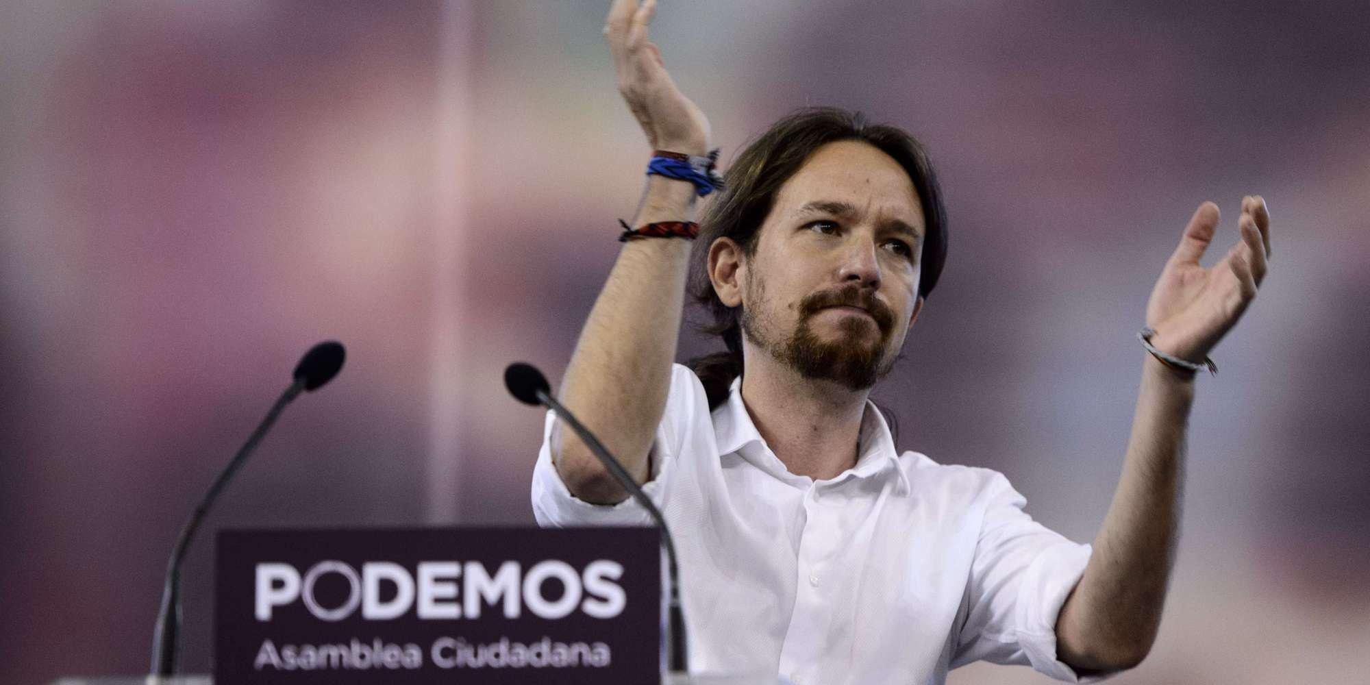 SPAIN-PARTIES-POLITICS-PODEMOS