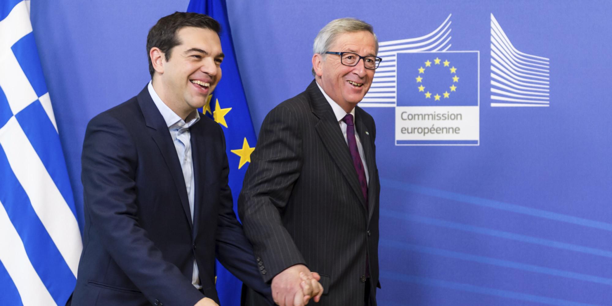 Jean-Claude Juncker, Alexis Tsipras