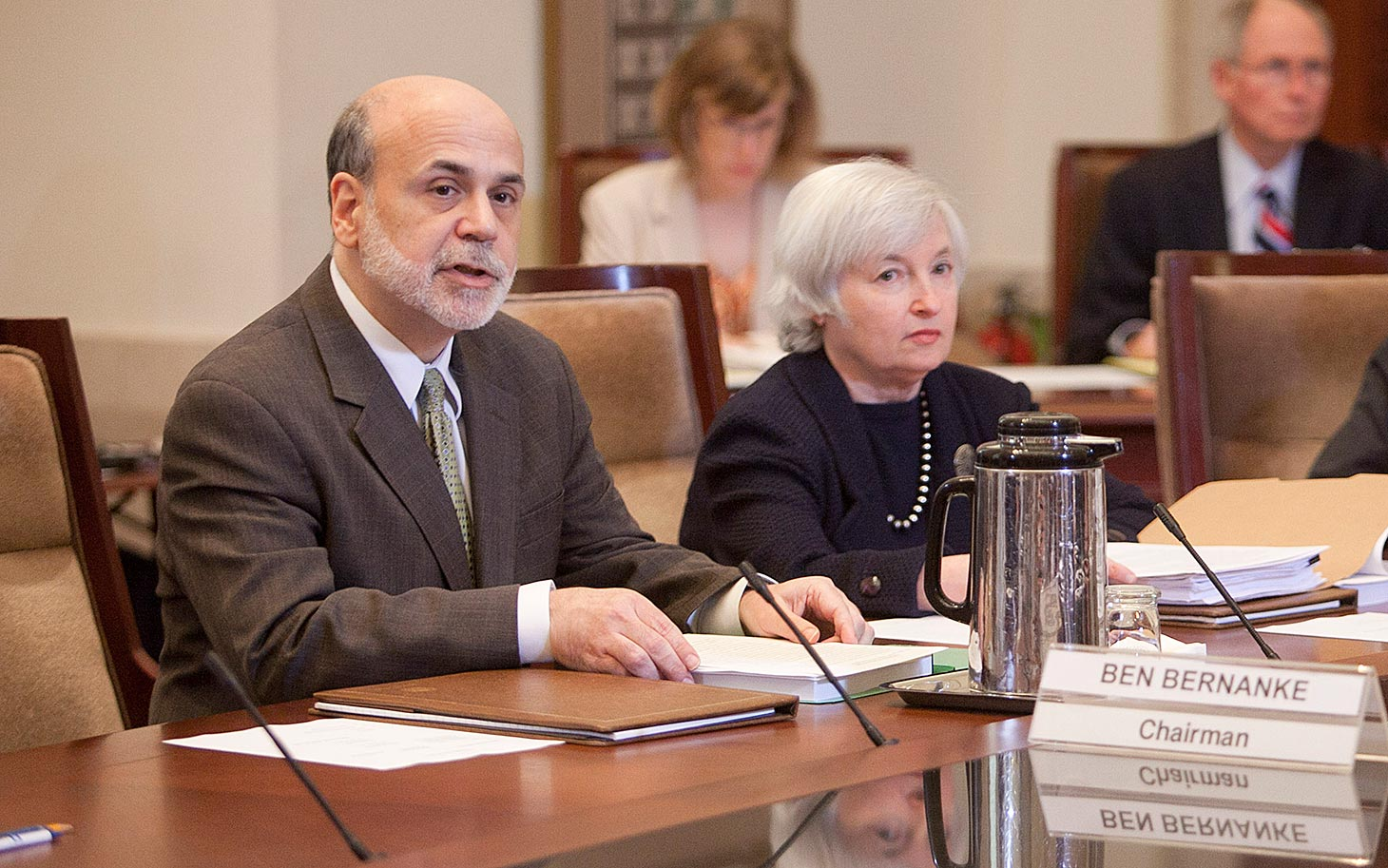 Federal Reserve Board Open Meeting On Debit Card Fees