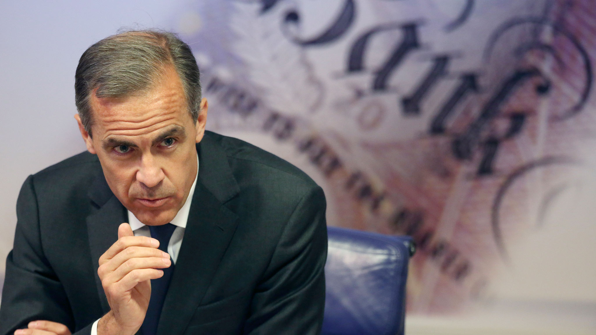 Bank Of England Governor Mark Carney Hosts Financial Stability Report News Conference