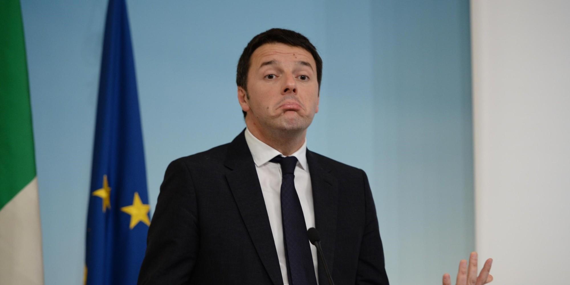 """Renzi contro i """"gufi"""", o faccio svolta o la chiudo qui"""