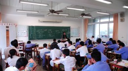 History_class_in_Da_Ji_Junior_High_School_2006-11-30
