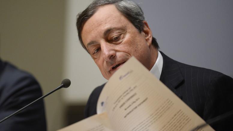 MARIO DRAGHI PARTECIPA A UNA CONFERENZA STAMPA DOPO LA RIUNIONE DEL BOARD DELLA BCE