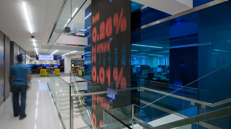 Dow Jones Office Space, Location: New York, NY, Architect: Studios Architecture