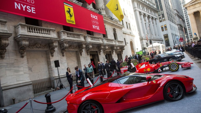 Ferrari Goes Public, With IPO On NYSE